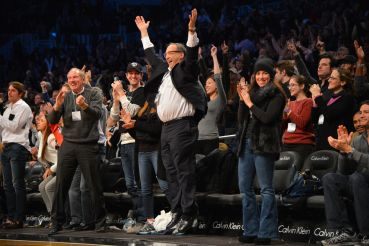 Developer Bruce Ratner brought the Nets to Brooklyn and built the Barclays Center (Photo: Jesse D. Garrabrant/NBAE via Getty Images).