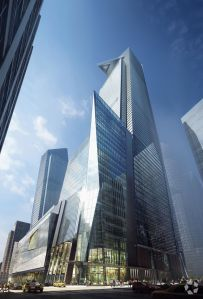 A rendering of 30 Hudson Yards (Photo: CoStar).