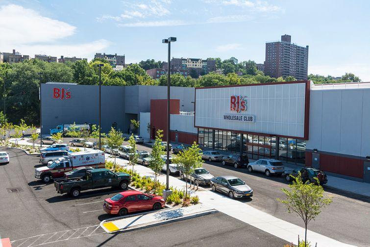 Riverdale Crossing's new BJ's Wholesale Club.
