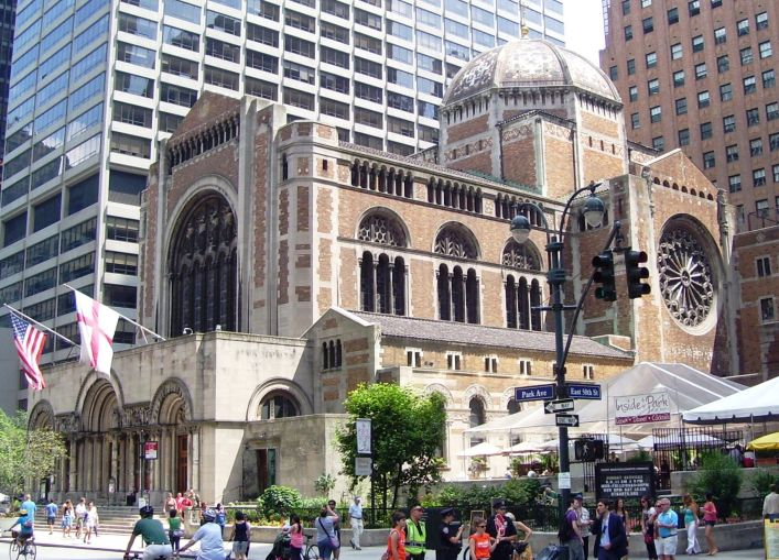 St. Bartholomew's Church might be a beneficiary of a new air rights policy.