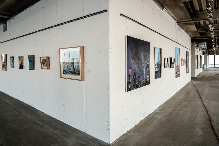 4 World Trade Center has become a hub for artists (Photo: Chris Sorenson for Commercial Observer).