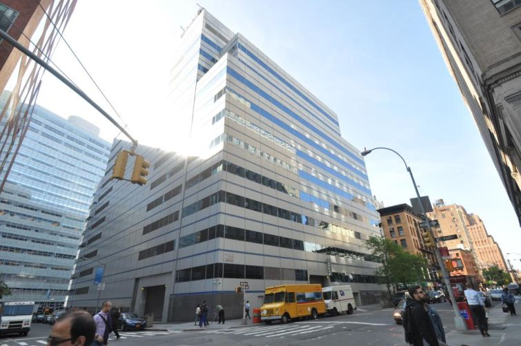 The Lower Manhattan building at 255 Greenwich Street.