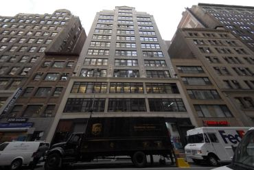 The building at 142 West 36th Street.