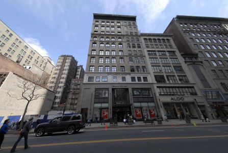 The building at 19 West 34th Street.