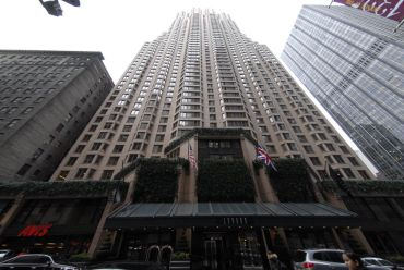 The London Hotel at 151 West 54th Street.