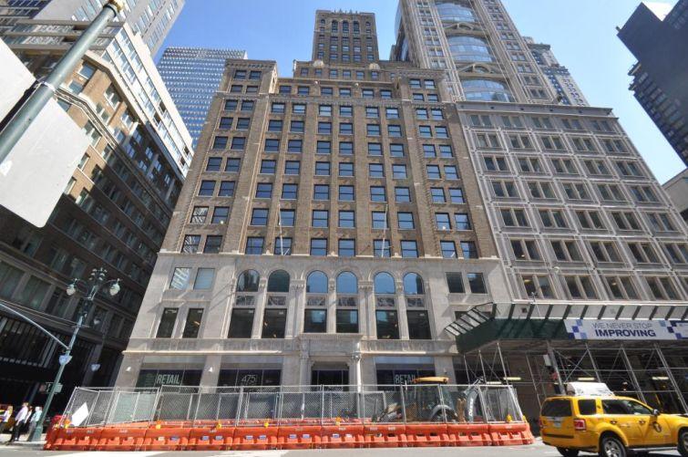 475 Fifth Avenue (Image courtesy: PropertyShark).