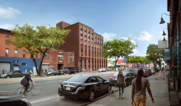 Rendering of 907-917 Atlantic Avenue.
