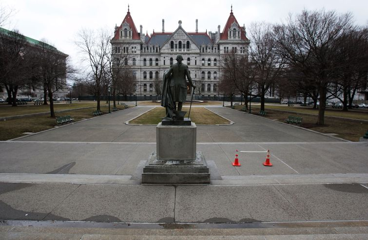 The New York State Capitol. Photo: Chris Hondros/Getty Images