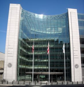 U.S. Securities and Exchange Commission's Headquarters in Washington, D.C.