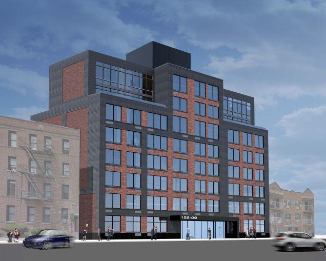 Rendering of 150-01 88th Avenue.