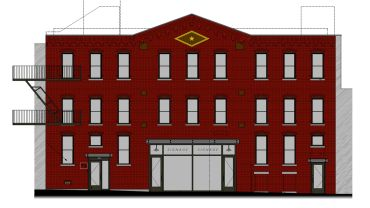 Rendering of 74 Kent Street.