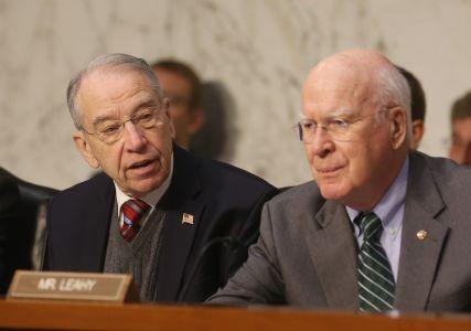 Senators Chuck Grassley and Patrick Leahy (Photo: Mark Wilson/Getty Images).