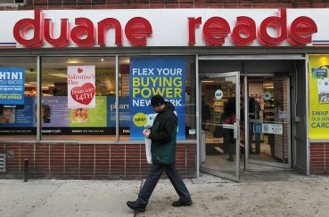 Duane Reade, Rite Aid and CVS/pharmacy are all over the city (Photo by Chris Hondros/Getty Images).