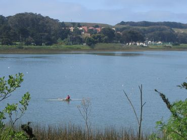 Lake Merced, San Francisco.