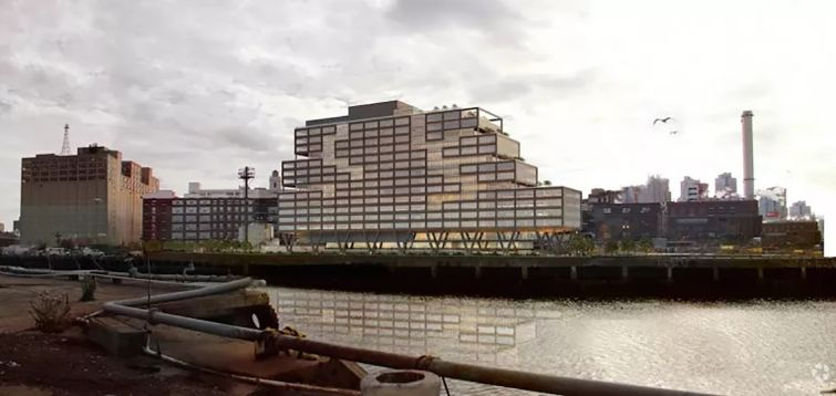 Gilbane Building Company is finishing up work on Dock 72 in the Brooklyn Navy Yard, which will be anchored by WeWork.