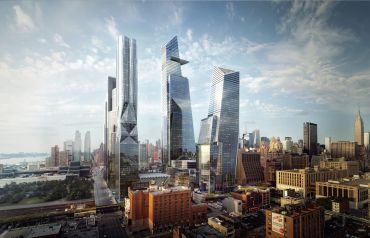 Rendering of 30 Hudson Yards.