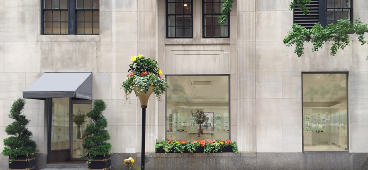 Conceptual rendering of the retail space at the Carlyle at 35 East 76th Street (Image: RKF).