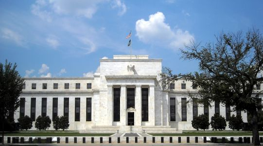 The Federal Reserve System Headquarters (Eccles Building).