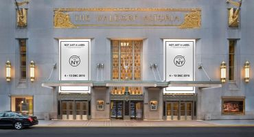 Rendering of The Waldorf Astoria New York with the the Made in NY branding.