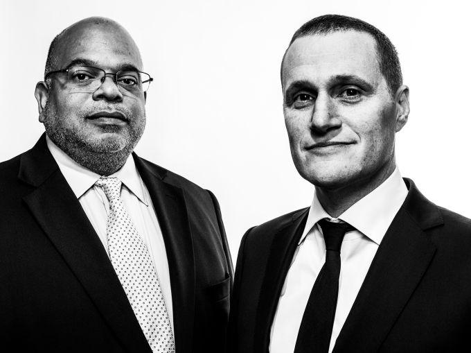 John Banks and Rob Speyer (Photo: Sasha Maslov/for Commercial Observer).