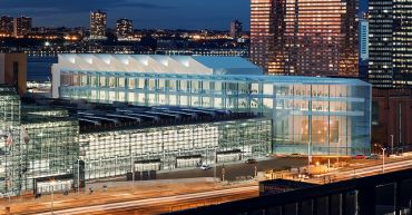 A rendering of the proposed expansions to the Jacob K. Javits Center (Photo: Gov. Andrew Cuomo's office via Flickr).