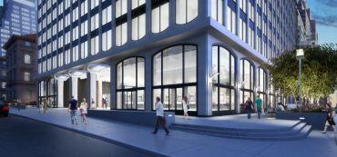 437 Madison Avenue (Rendering: William Kaufman Organization).