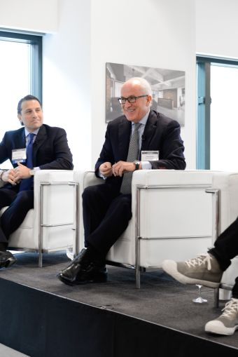 Mr. Behler discussed the mix of tenant types at Paramount Group's 1633 Broadway and the draw of the West Side (Photo: Presley Ann/PMC).