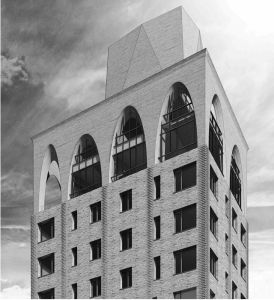 A rendering of 180 East 88th Street (CoStar).