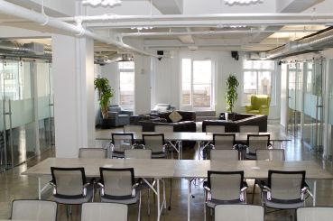 A Workville coworking space in New York City (Photo: Molly Stromoski / for Commercial Observer).