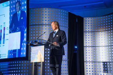 Eastdil Secured Chief Executive Officer Roy March at Loews Miami Beach Hotel (Photo: CREFC).