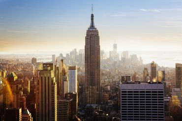 WHILE 85 YEARS OLD, THE LEED-CERTIFIED EMPIRE STATE BUILDING HAS BECOME A TEST CASE FOR ENERGY EFFICIENCY.