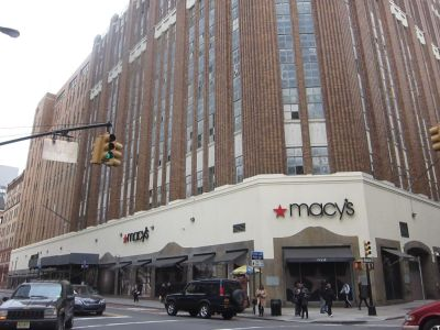 Macy's Downtown Brooklyn Location at 422 Fulton Street, where Tishman Speyer plans to convert upper floors to office space.