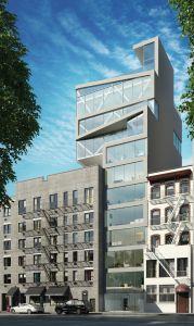 Rendering of 251 West 14th Street (Credit: B+B Capital).