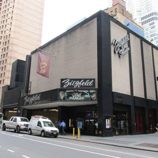 Ziegfeld Theatre (Photo: cinematreasures.org)