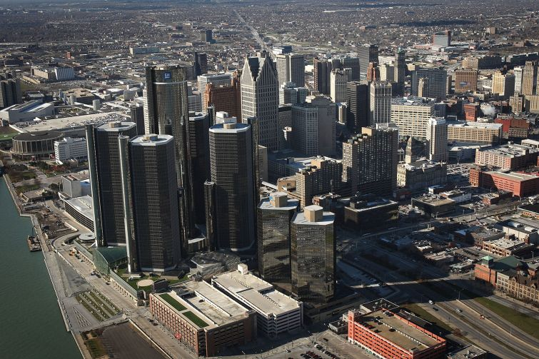 Detroit  (Photo by Spencer Platt/Getty Images).