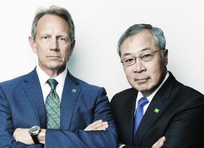 TD Bank's Gregg Gerken and Roy Chin (PHOTO: Celeste Sloman for Commercial Observer).