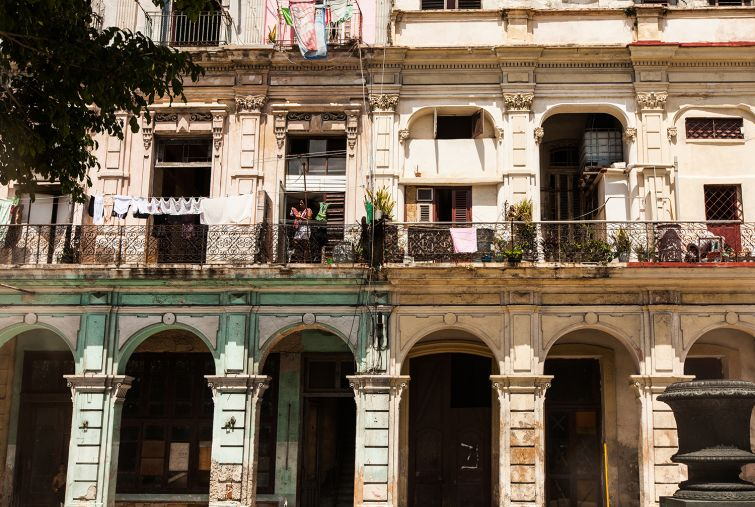 Havana's historic architecture has some potential developers interested in preservation, but hospitality could be the best bet for many (Photo: Emily Assiran/Commercial Observer).
