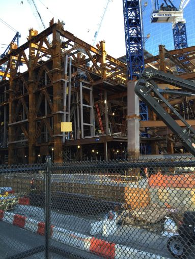 Construction of 30 Hudson Yards (Photo: Terence Cullen/Commercial Observer).