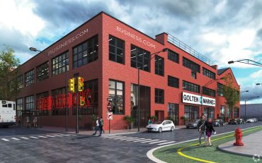 A rendering of 160 Van Brunt Street. Photo: CoStar Group