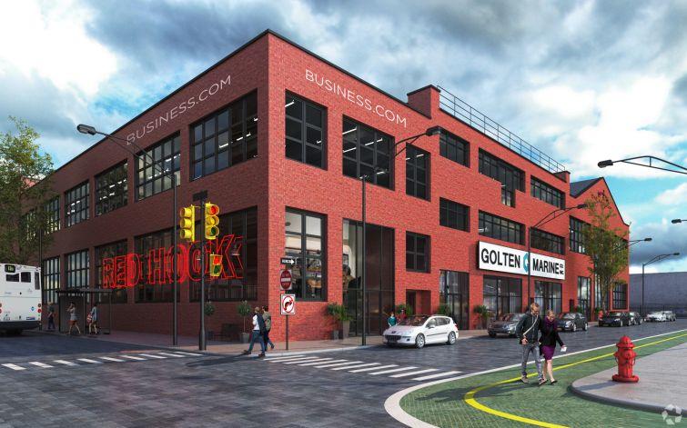 A rendering of 160 Van Brunt Street. Photo: CoStar Group