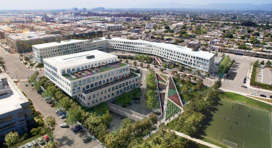 A rendering of The Brickyard in Los Angeles, Calif.