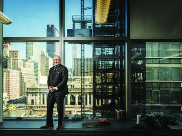 Cushman & Wakefield's Bruce Mosler (Photo: Sasha Maslov/for Commercial Observer).