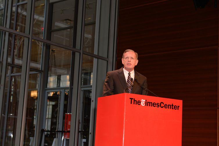 Gary Higbee of the Steel Institute of New York (Photo: Presley Ann Slack/PMC).