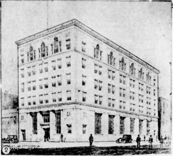 Globe Exchange Bank at 815 Broadway.