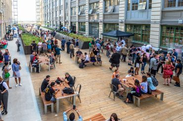 BROOK SMART: Offices in Brooklyn spots like Industry City are capitalizing  on amenities.