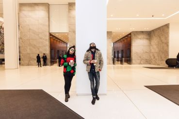 NOT-SO-COOL LOBBY, BRO: With millennials heading to amenity-heavy buildings to the south, Midtown landlords are trying to keep them in the business district (Photo: Emily Assiran/Commercial Observer).