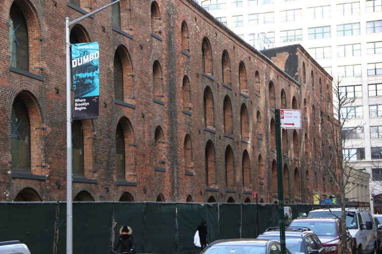 The former warehouse in Dumbo Brooklyn where J.Crew is moving.