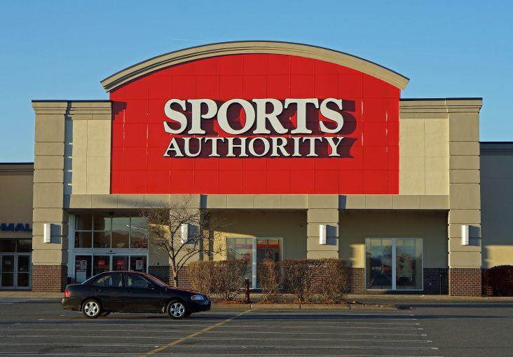 Sports Authority.