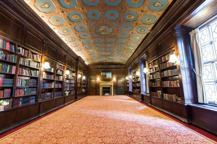 Villard Mansion South Wing Library at the Lotte New York Palace.