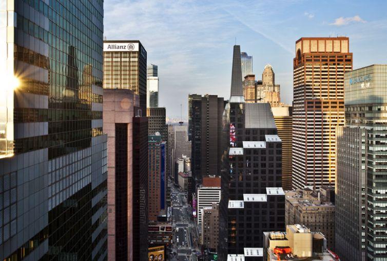 W New York Times Square (Photo credit: Starwood).